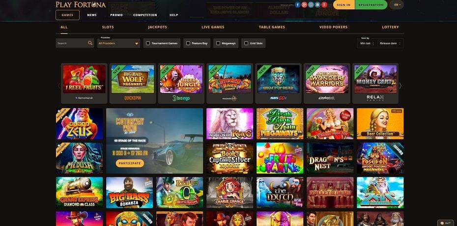 slots play fortuna