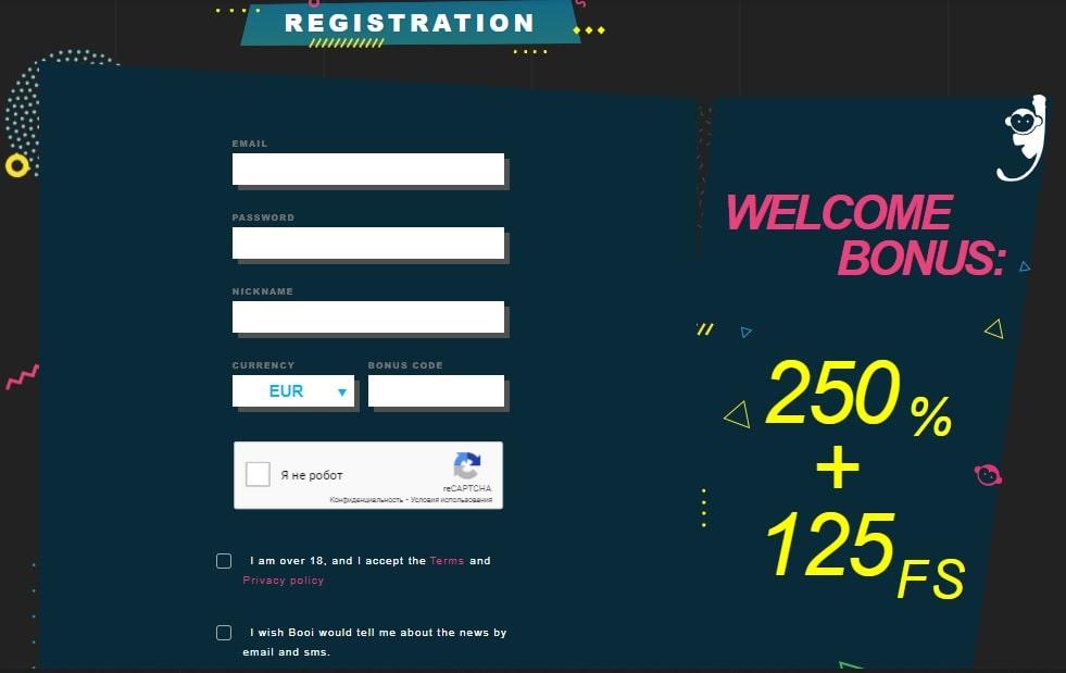 registration booi