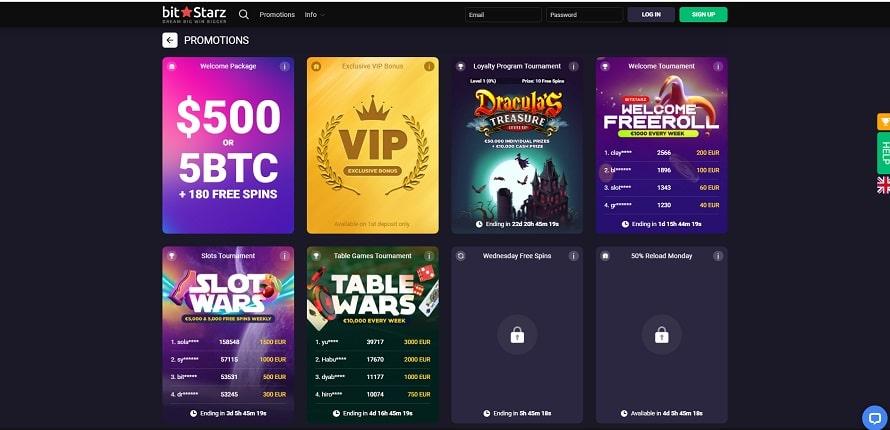 Bonuses casino