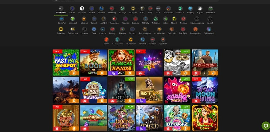slots fast pay